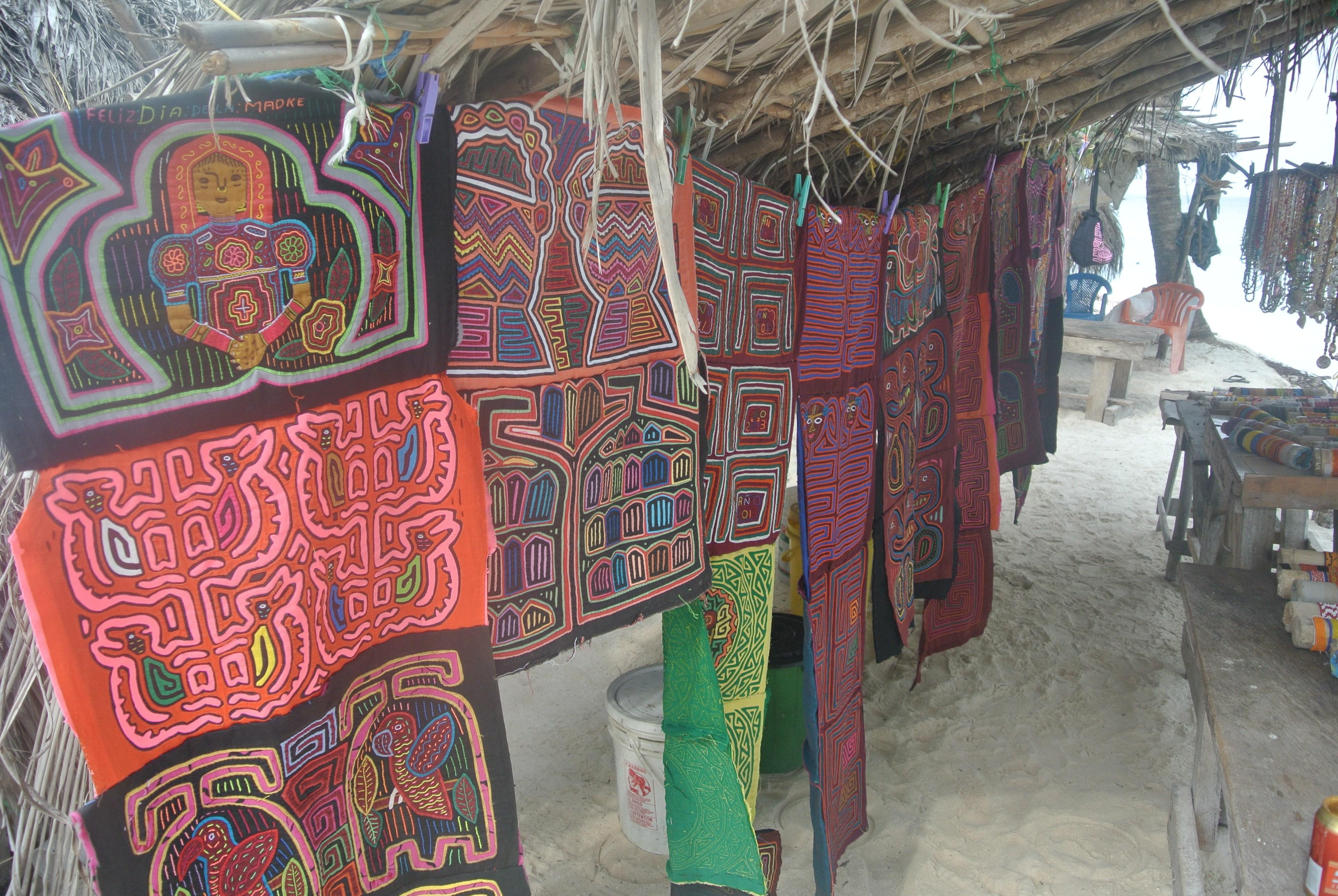 Arte Kuna, Islas Guna Yala, Panamá