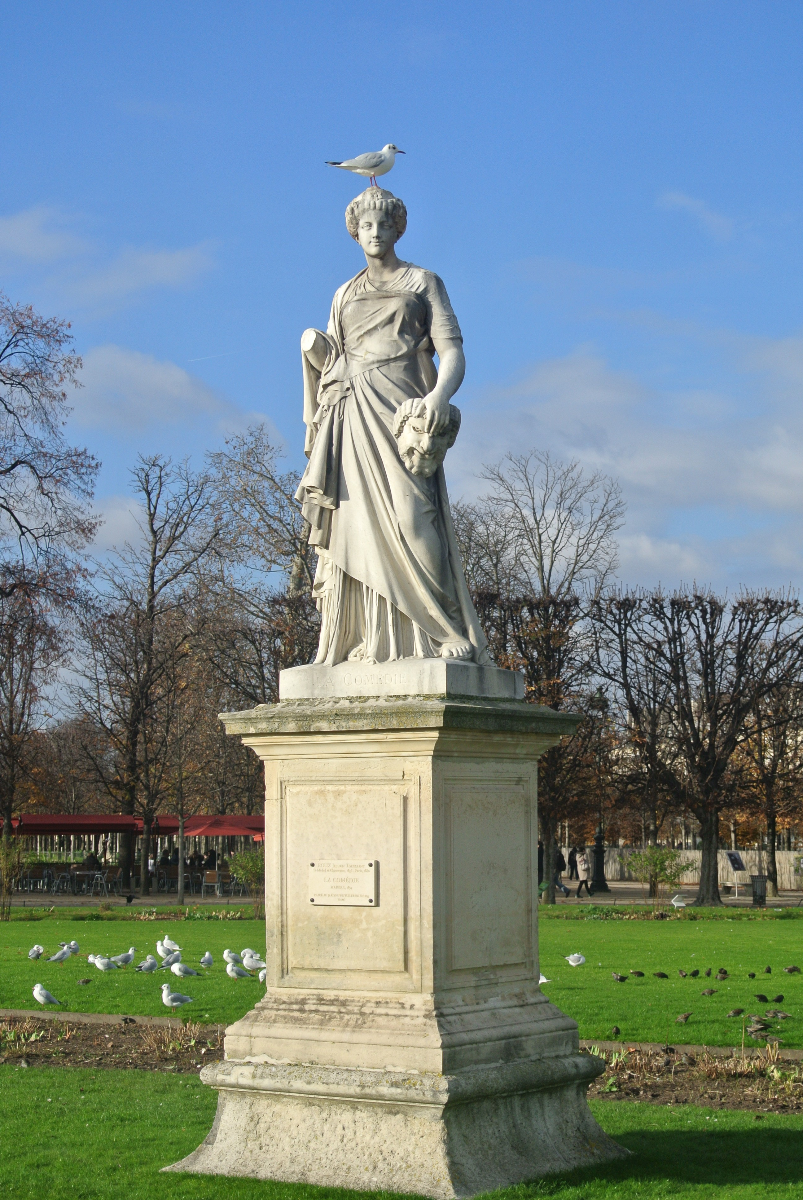 Tuileries Statue, Paris | Todd's Travels Travel Blog
