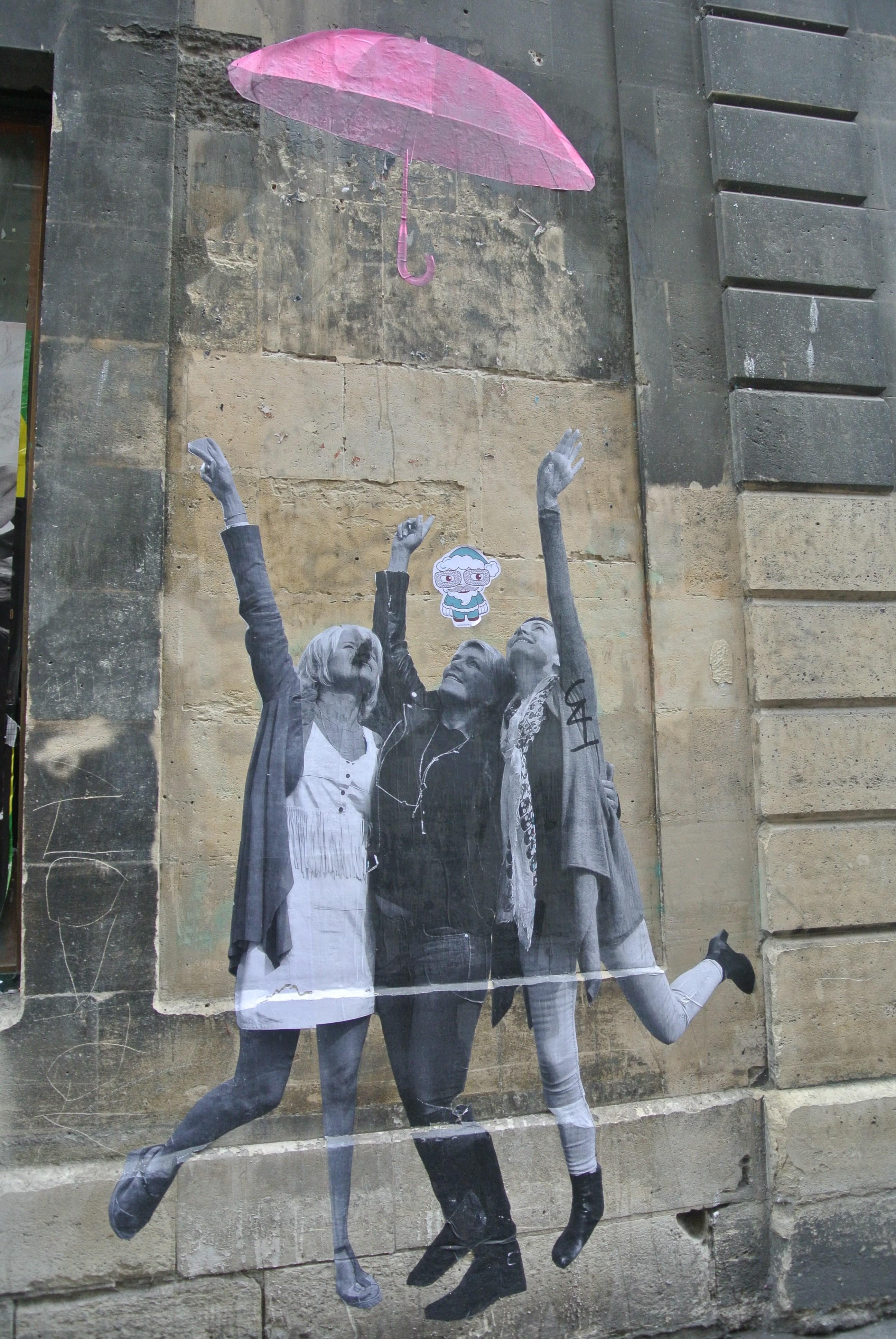 Parisian Street Art in Le Marais