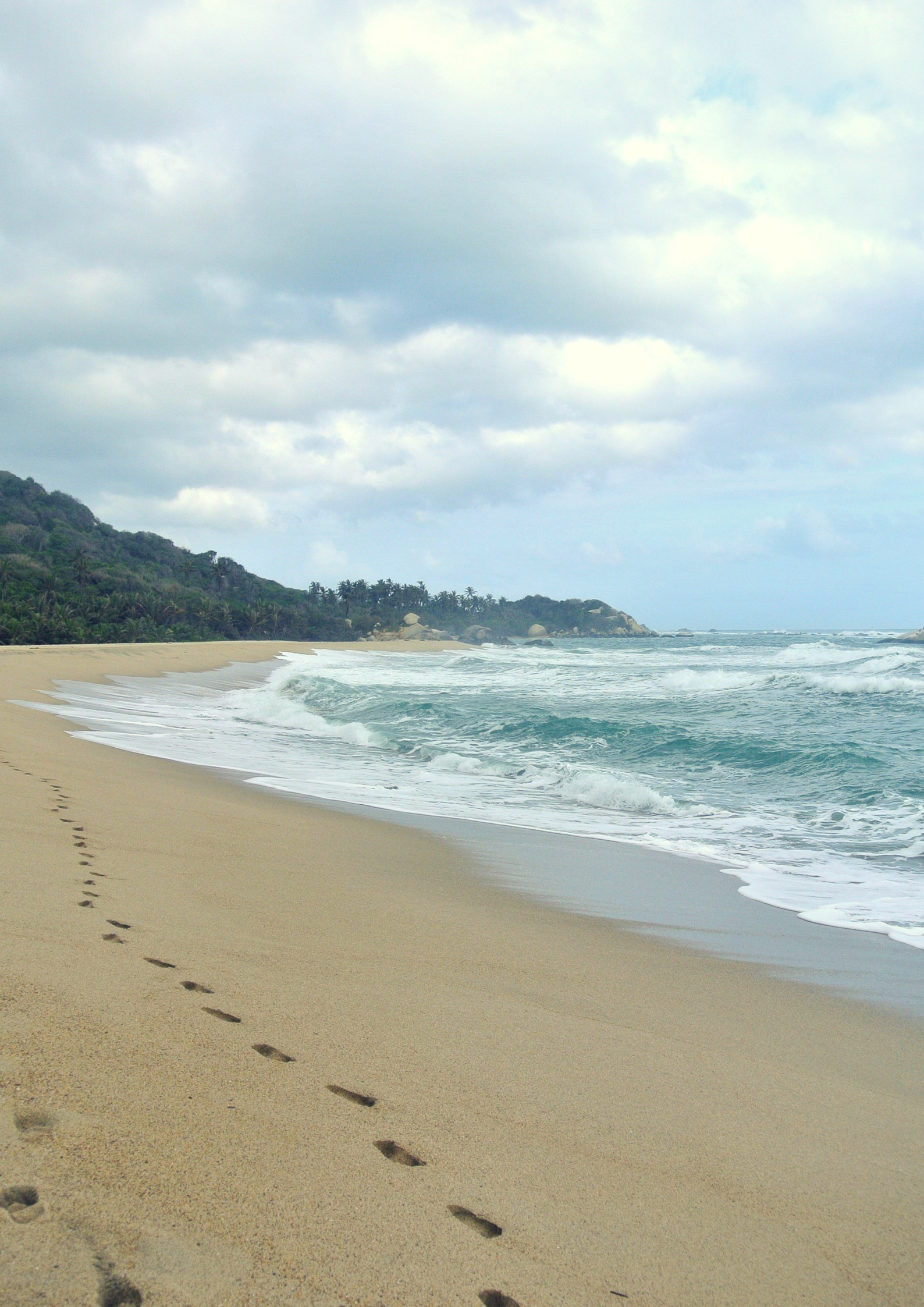 Trekking to Parque Tayrona isn't difficult, you just need a bit of advance planning.