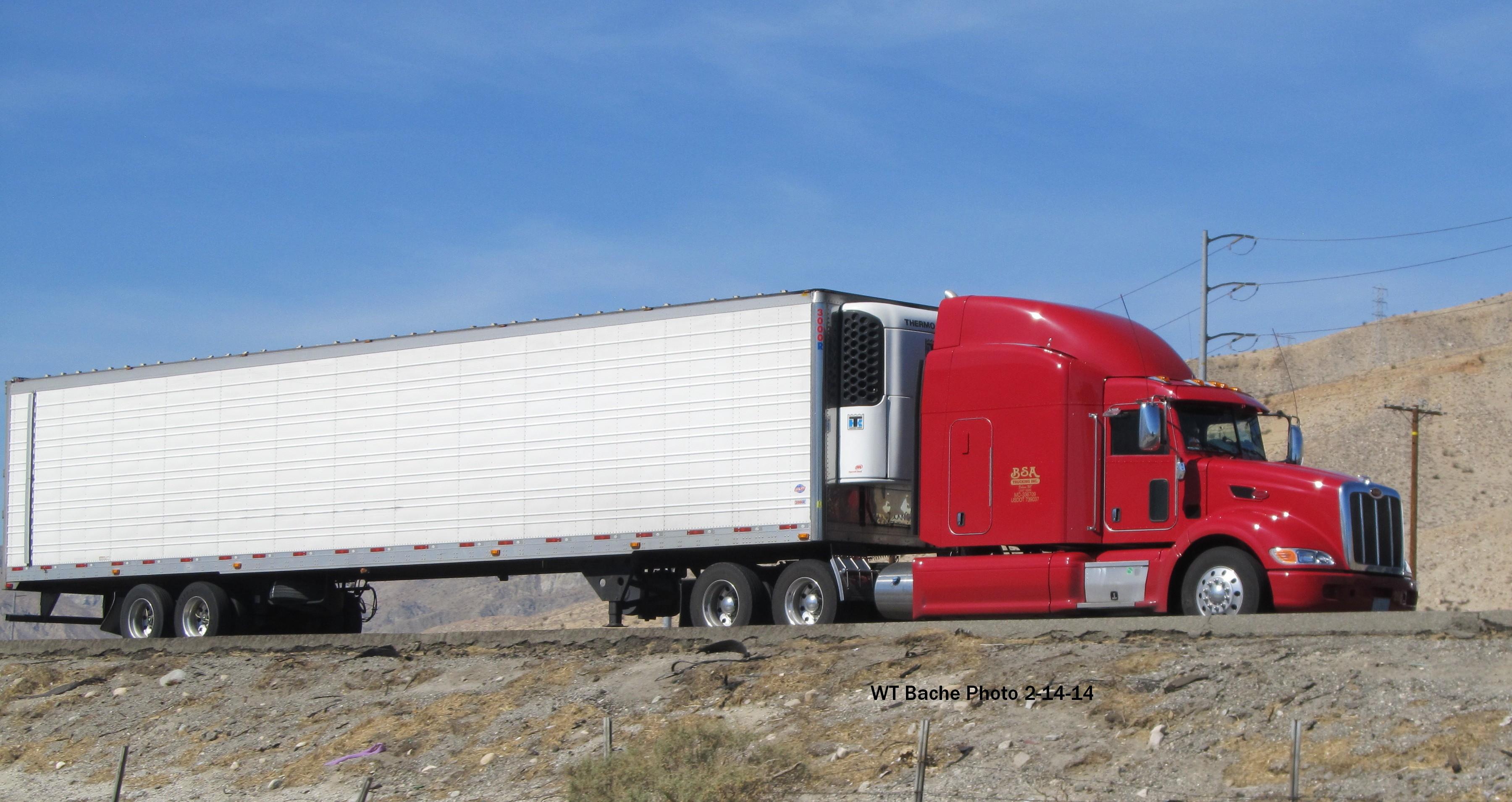 BSA Trucking --Dobson NC