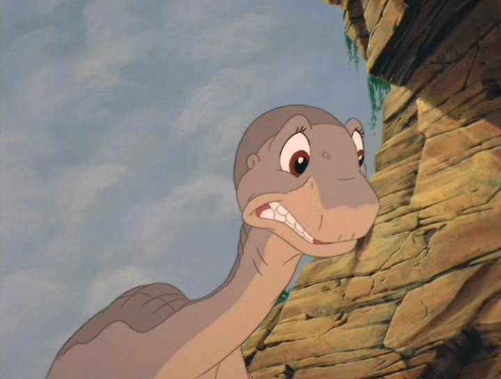 Littlefoots dilemma The Gang of Five  The Land Before Time