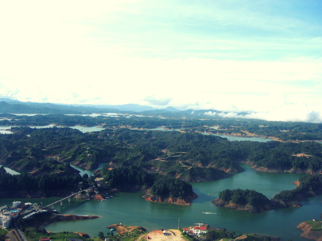 Guatapé, Colombia. My 5 favourite places in Colombia | Todd's Travels
