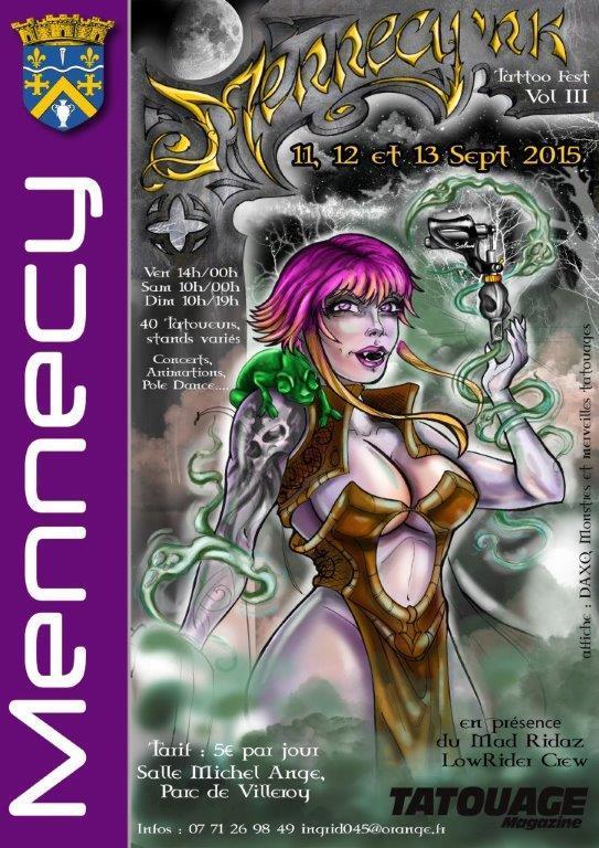 Convention Mennecy (91) - Forum Tatouage et Piercing