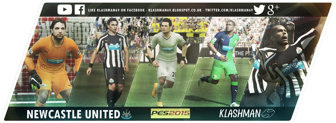 Download Newcastle United PES 2015 Kit Pack