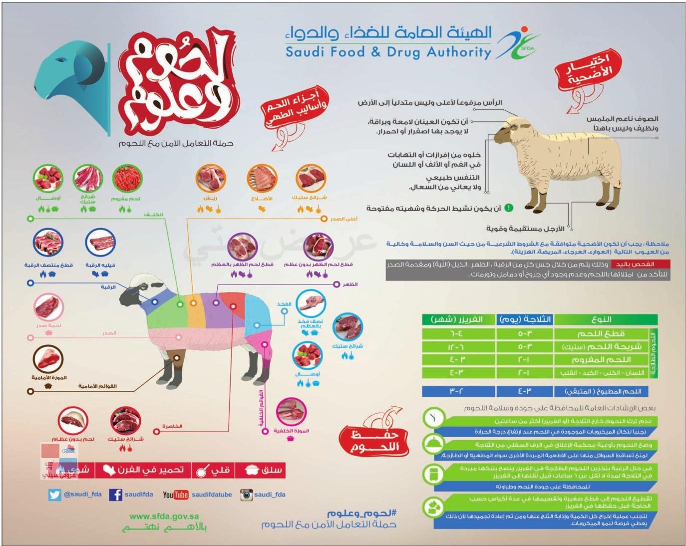 طريقة اختيار الأضحية وفهم اساليب طهي اللحم وتقسيمة JXWxMA.jpg