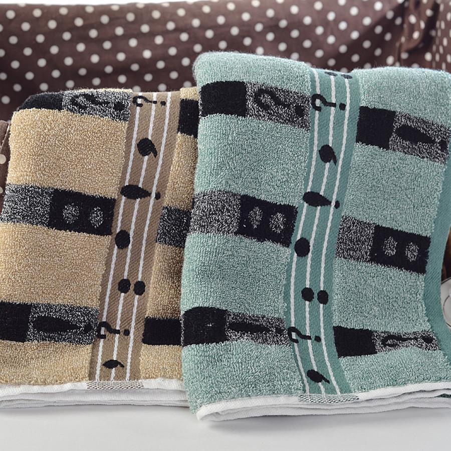 New Soft Cotton Towels Bathroom Beach Wash Washcloth Color Beige Black Ebay