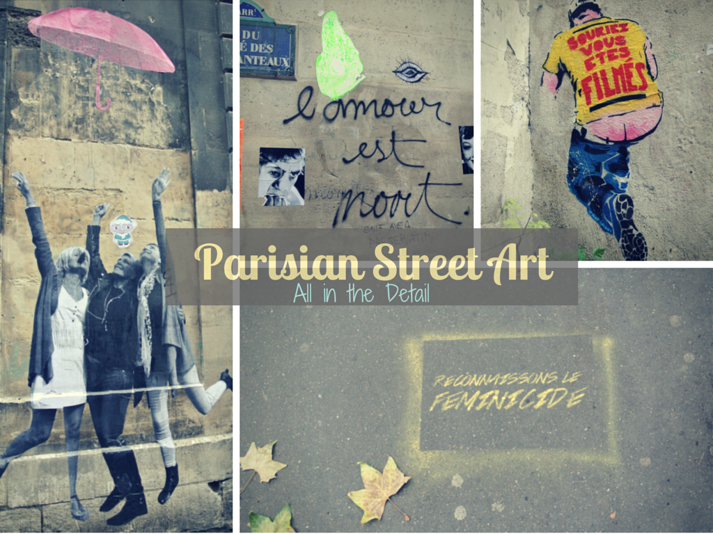 Parisian Street Art: All in the Detail. Todd's Travels Travel Blog - A little bit out of the ordinary.