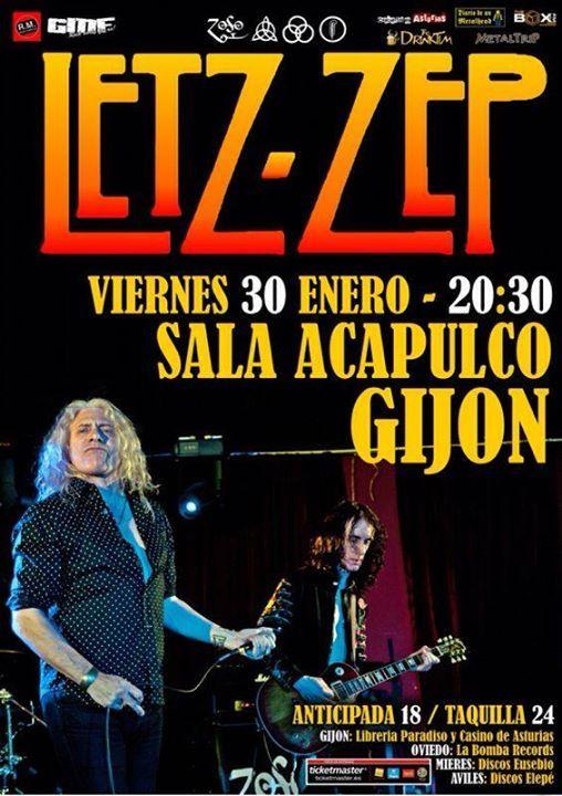 Letz Zep en Gijón