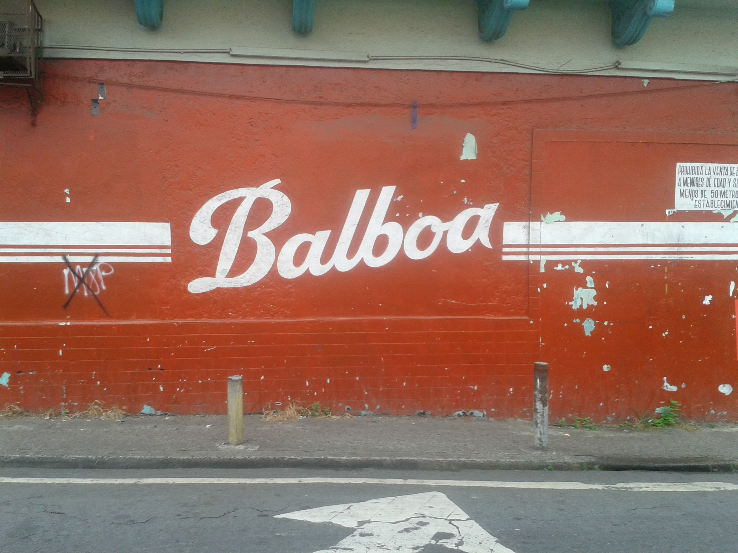 One of Panamá's main beers is Balboa