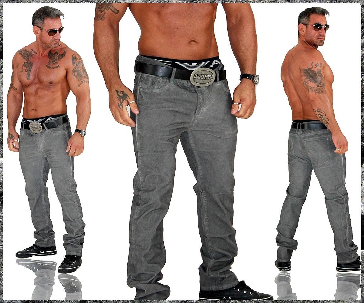 herren jeans hose chino cord cordhose slim fit 911 ebay. Black Bedroom Furniture Sets. Home Design Ideas
