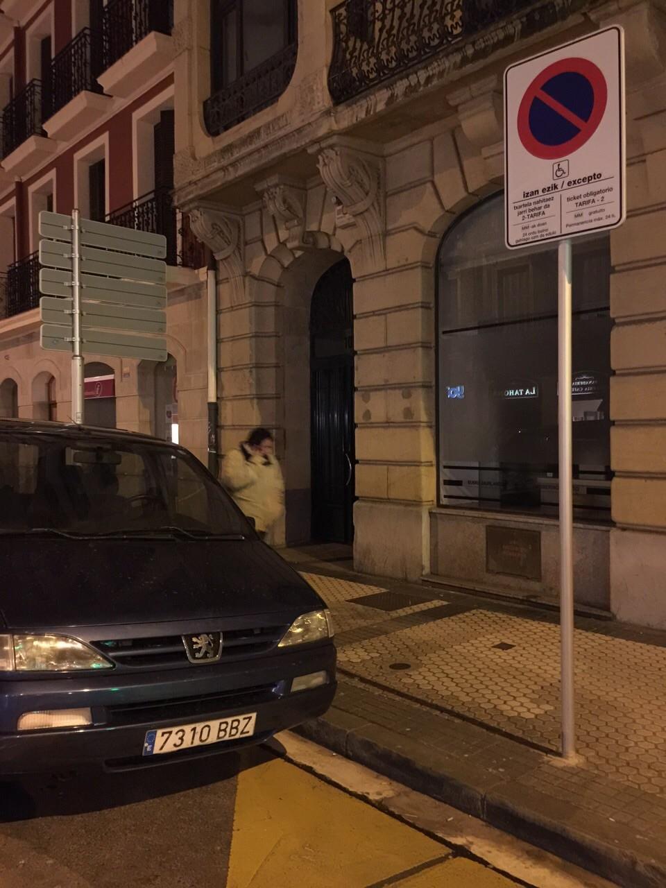 Plazas de Parking Resevadas para Personas con Movilidad Reducida