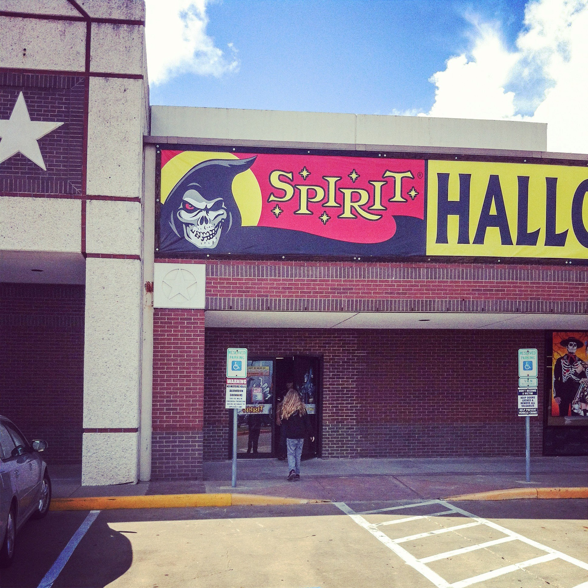 2014 09 03 trip to spirit halloween in webster texas