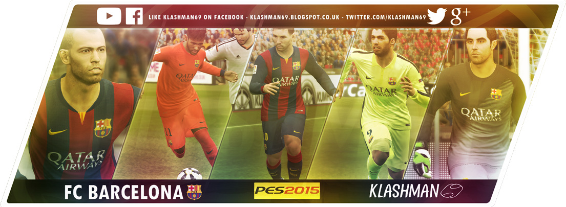 FC Barcelona PES2015 Kit Pack