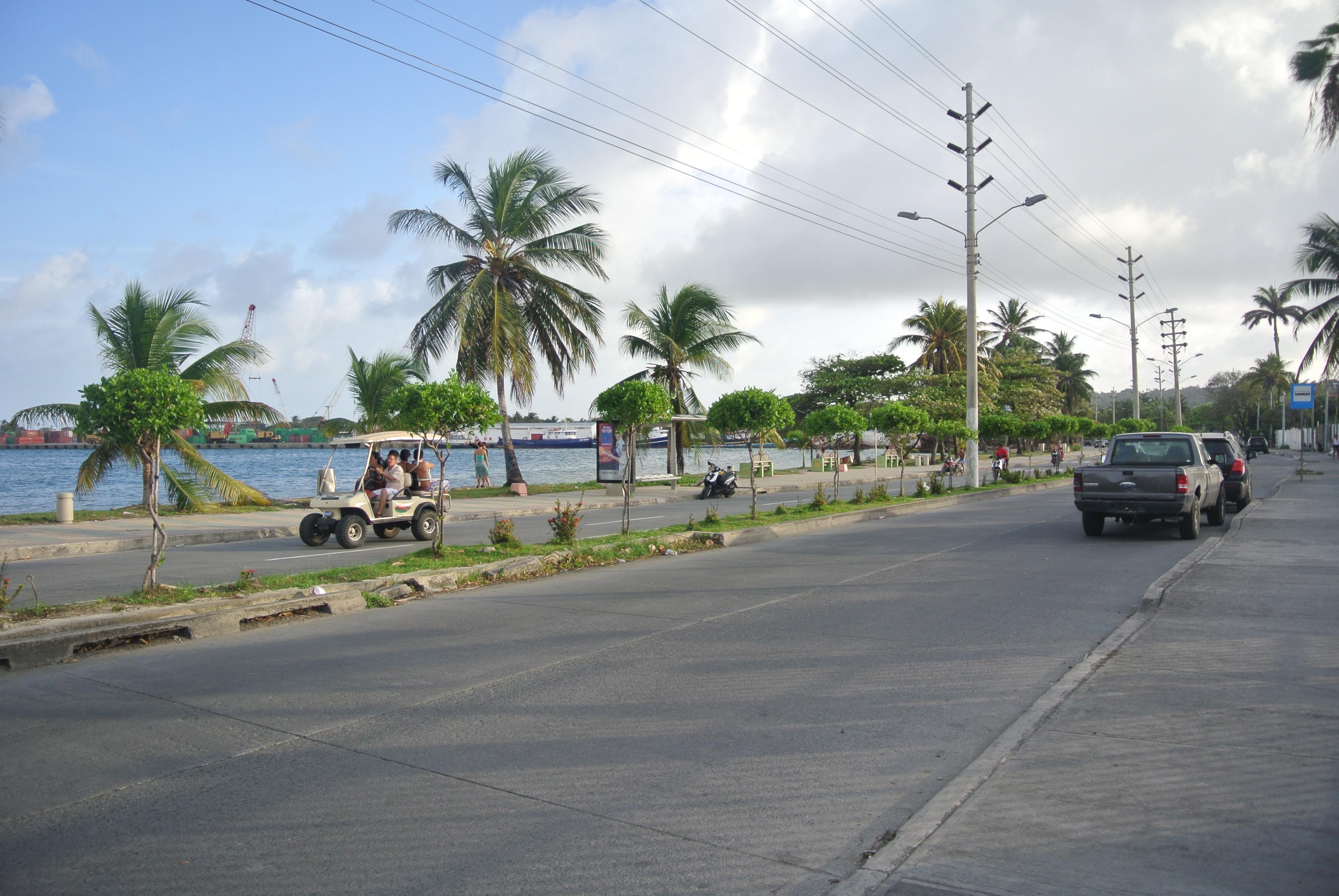 Ruta en San Andres, Colombia
