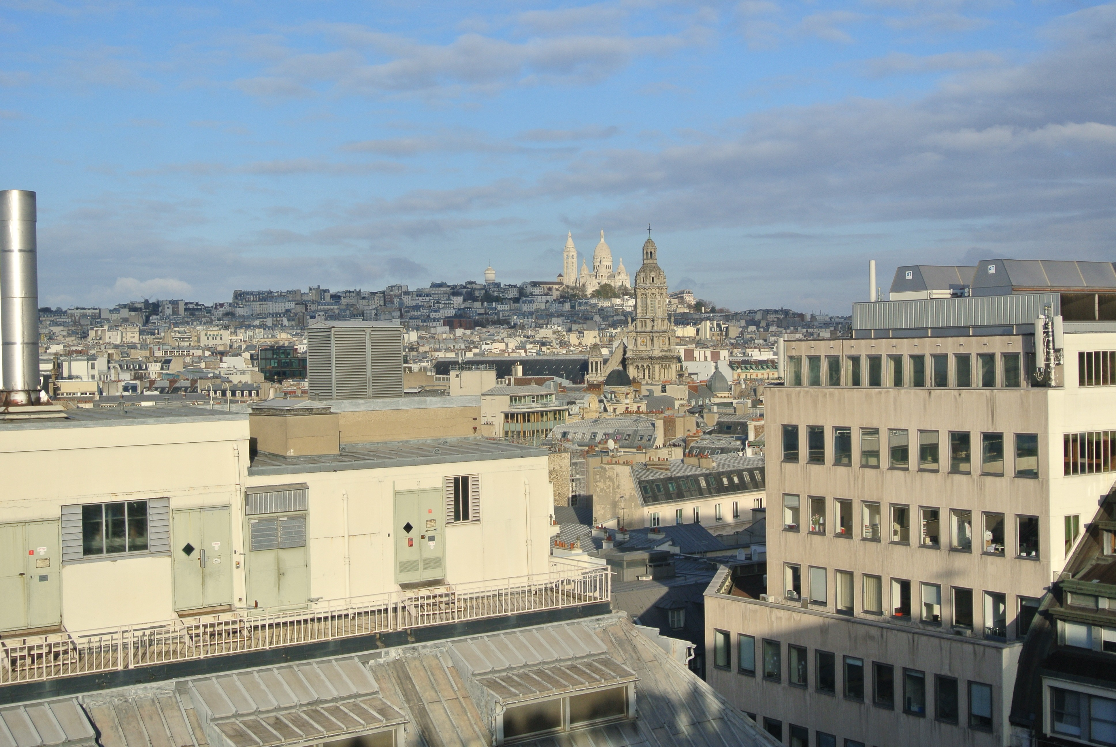 View of Sacre Coeur and Paris | Todd's Travels Travel Blog