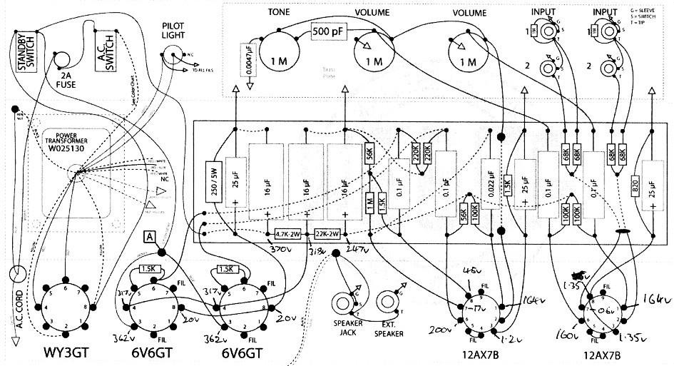 5e3 input jacks explanation needed