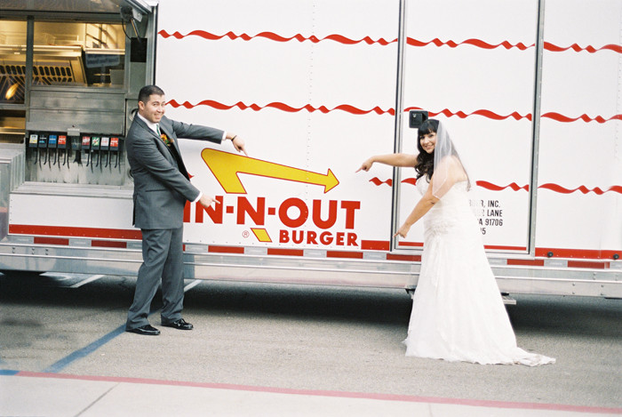 in n out burger cookout trailer