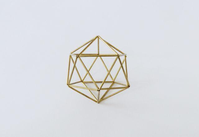 DIY Geometric ball | KreaVilla