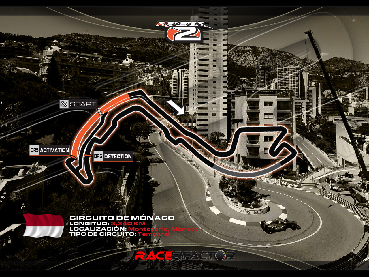 Circuito Monaco : Racerfactor monaco