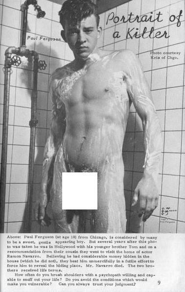 image Paul raymond angel from men only magazine