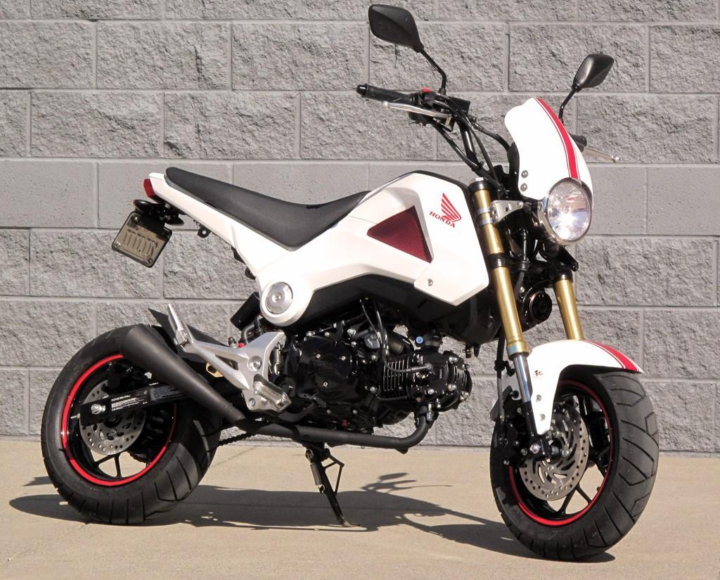 Honda Grom Build >> 2014 Honda Grom Custom!