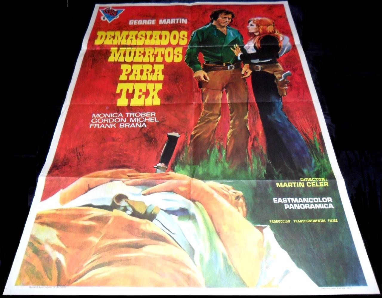 1971 Vamos a matar Sartana ORIGINAL POSTER Spaghetti ...