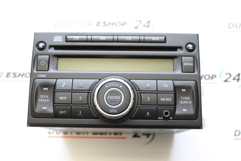 nissan nv200 2010 radio cd player 28185 jx50a pp 3151j a. Black Bedroom Furniture Sets. Home Design Ideas