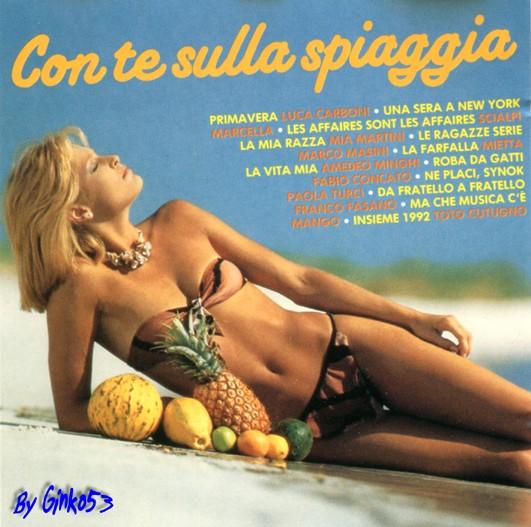 VA - Con Te sulla Spiaggia (1990)