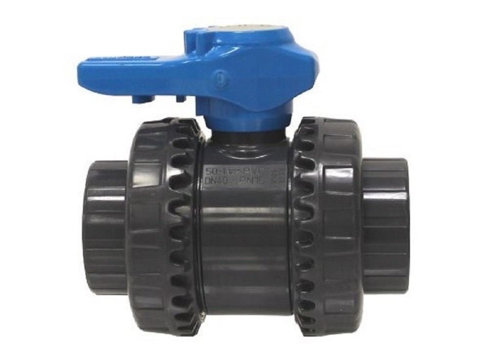 Vanne pvc 50 ff fip easyfip pression coller piscine for Pvc pression piscine