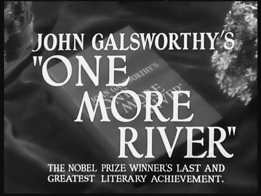z3bz James Whale   One More River (1934)