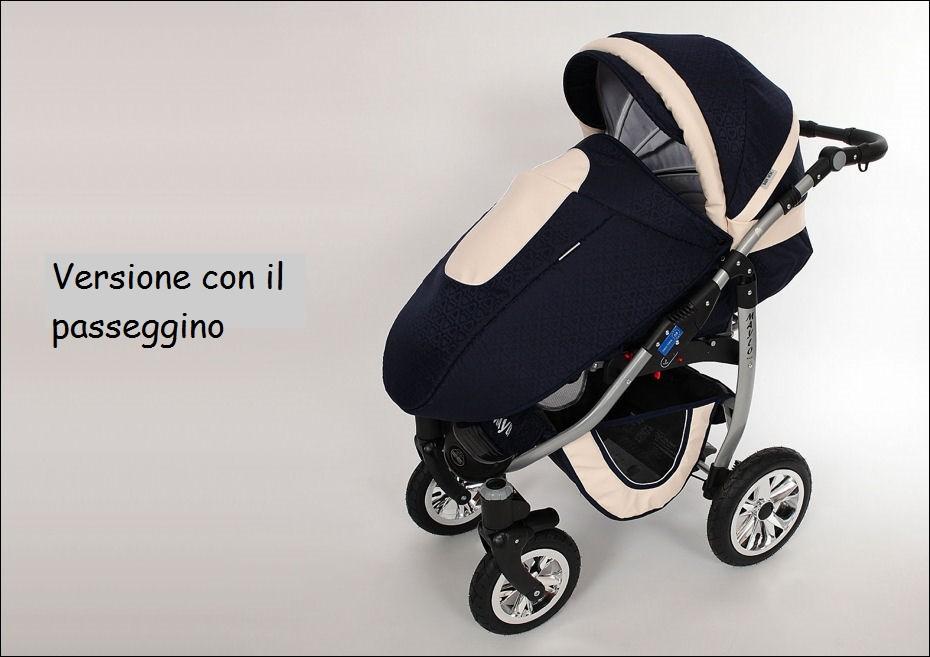 Passeggino trio 3in1 gadget maylo passeggino ovetto for Passeggino trio ebay