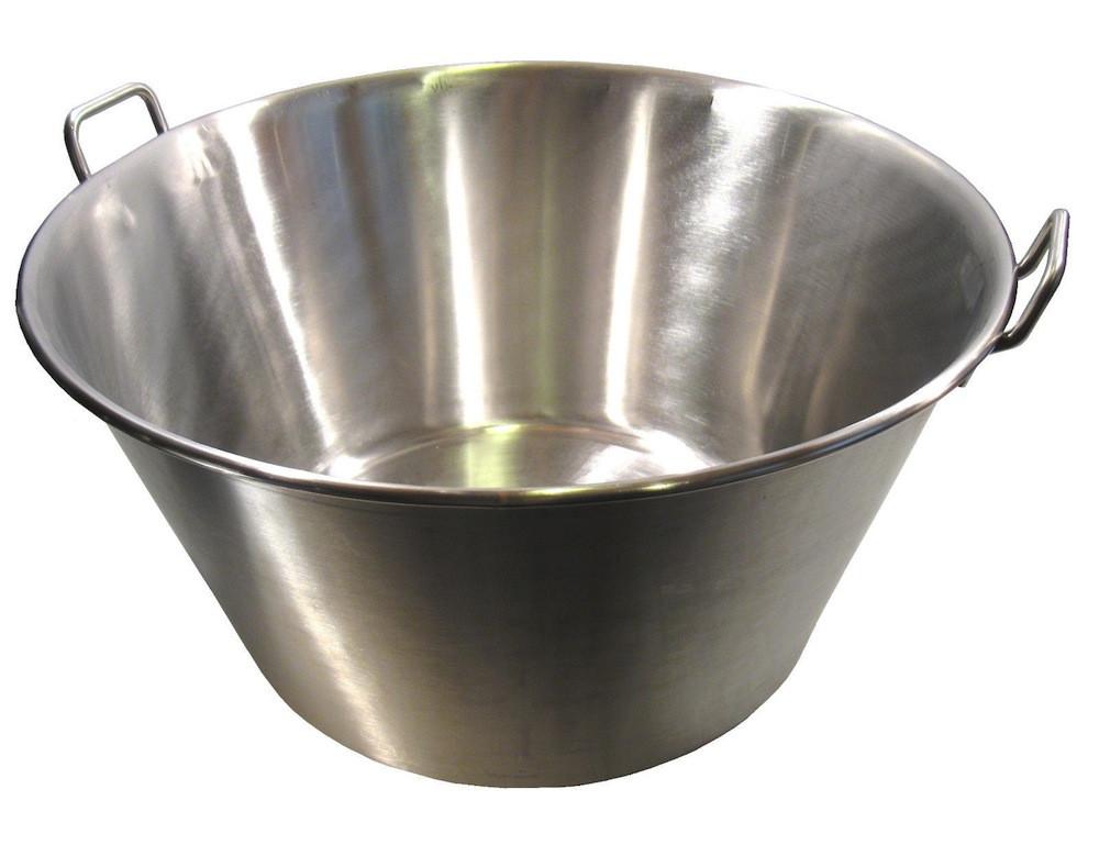 Extra Large Stainless Steel Caso Cazo Para Carnitas Gas