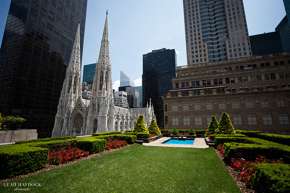 Rooftop garden wedding venue in NYC