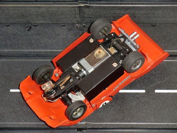 carrera universal 132 porsche turbo orange rot. Black Bedroom Furniture Sets. Home Design Ideas