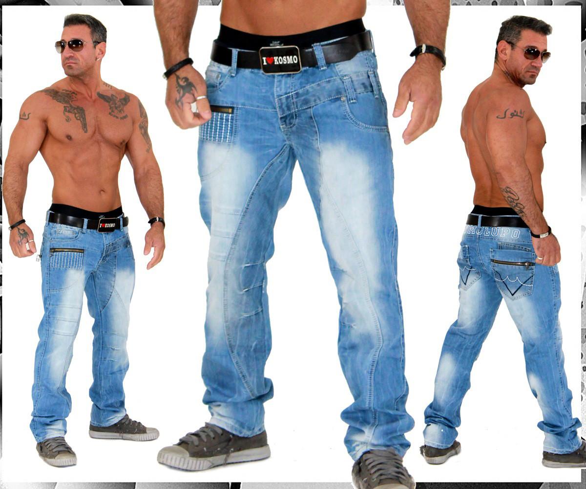 kosmo lupo k m herren jeans hose hammer design top style. Black Bedroom Furniture Sets. Home Design Ideas