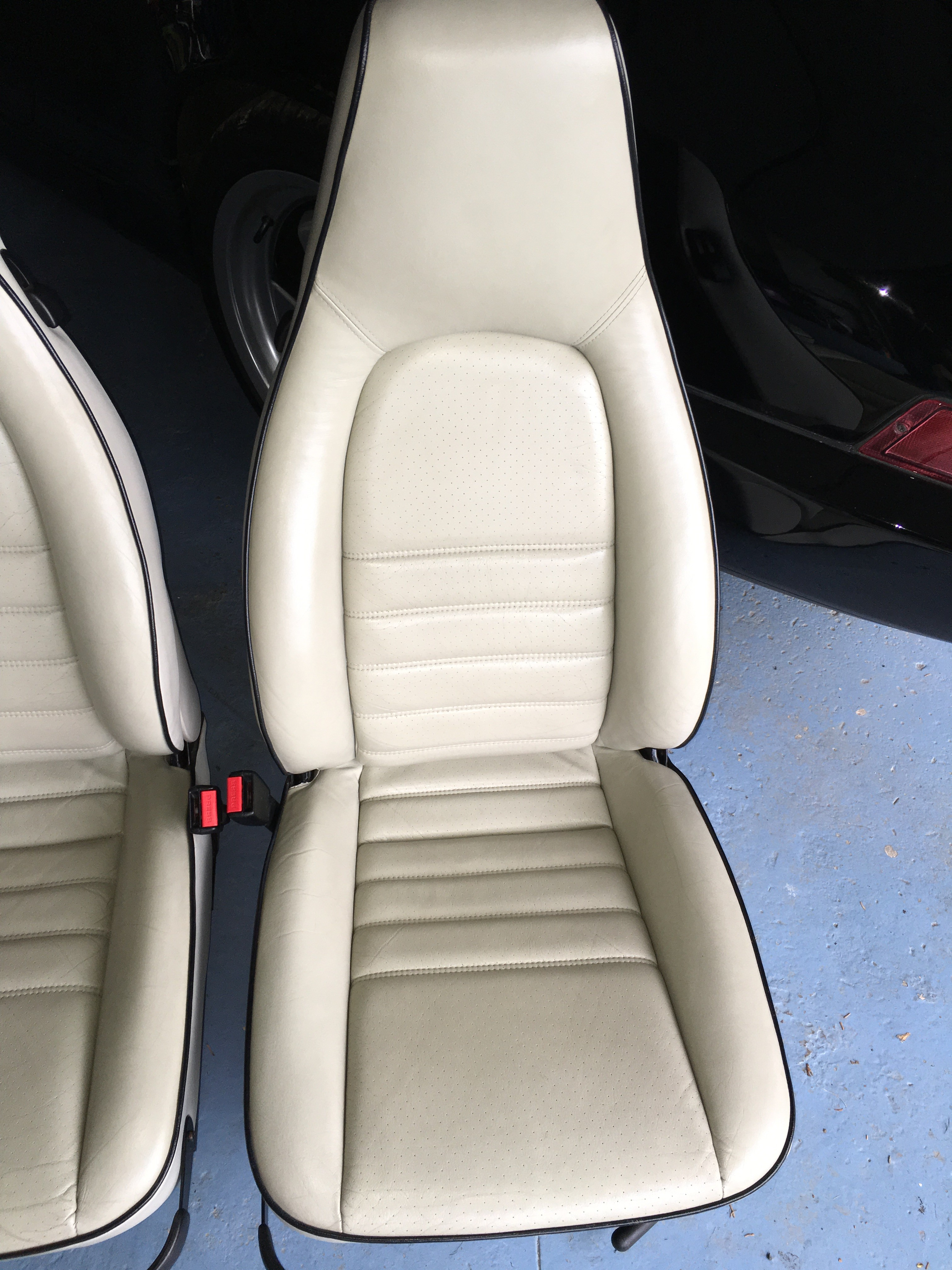 Linen Car Seat Covers