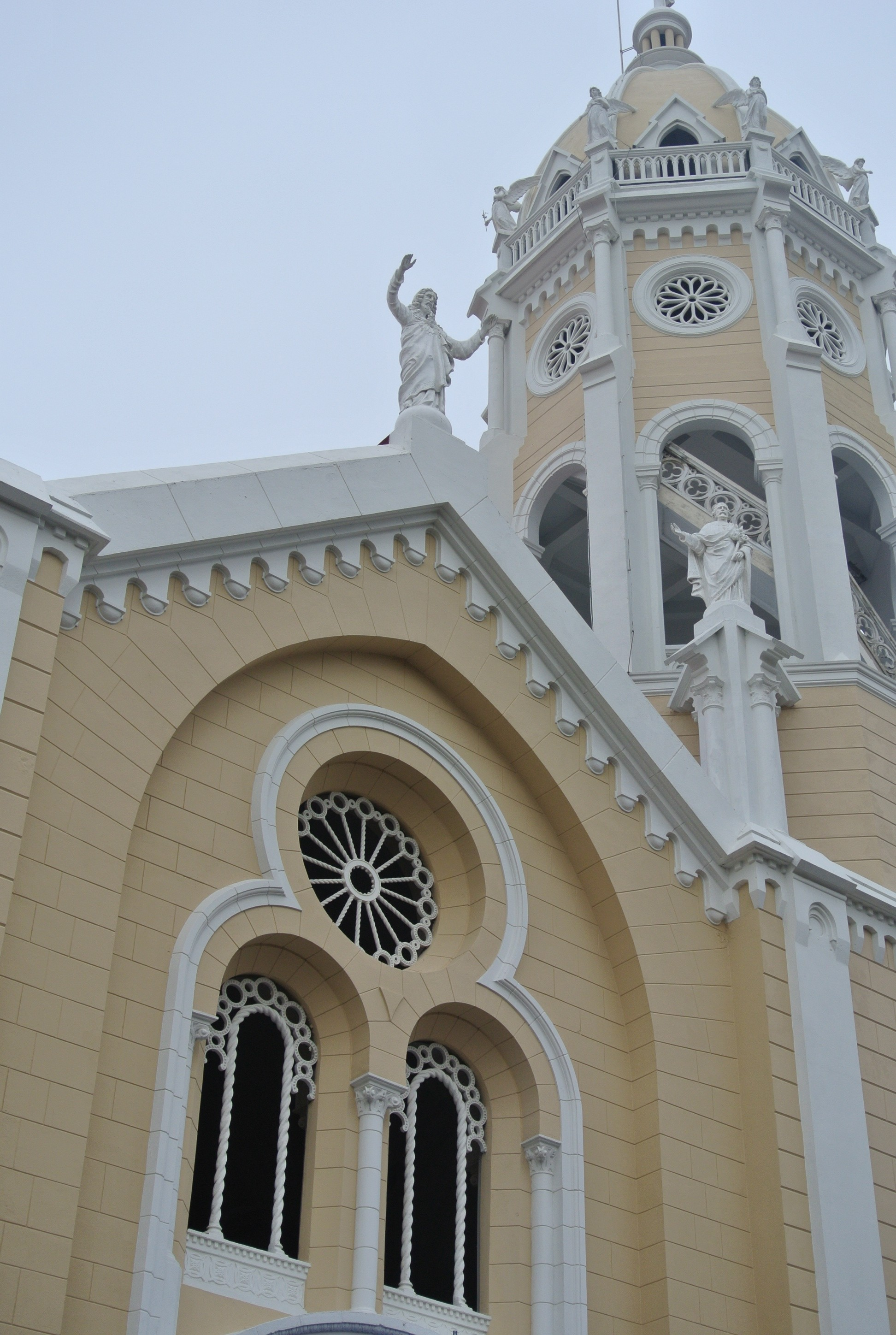 Just one example of the beautiful colonial architecture in Casco Viejo in Panamá