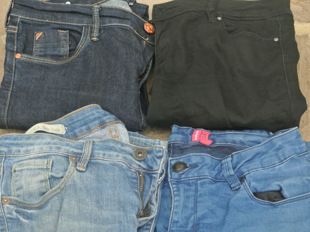 Jeans - one of the must-have items for backpacking in Colombia.