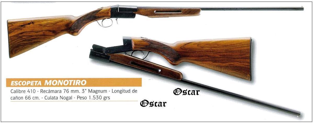 Escopeta monotiro cal 410