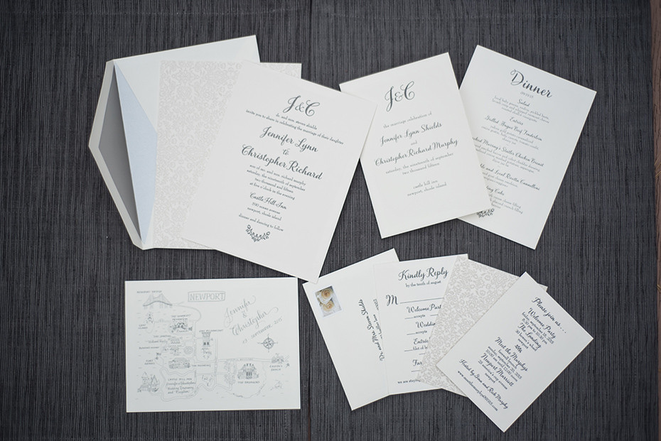 Their Families And Wedding Party Want To See Some Lovely Letterpress Invitations Complete With Custom Maps For All Of The Weekend Happenings