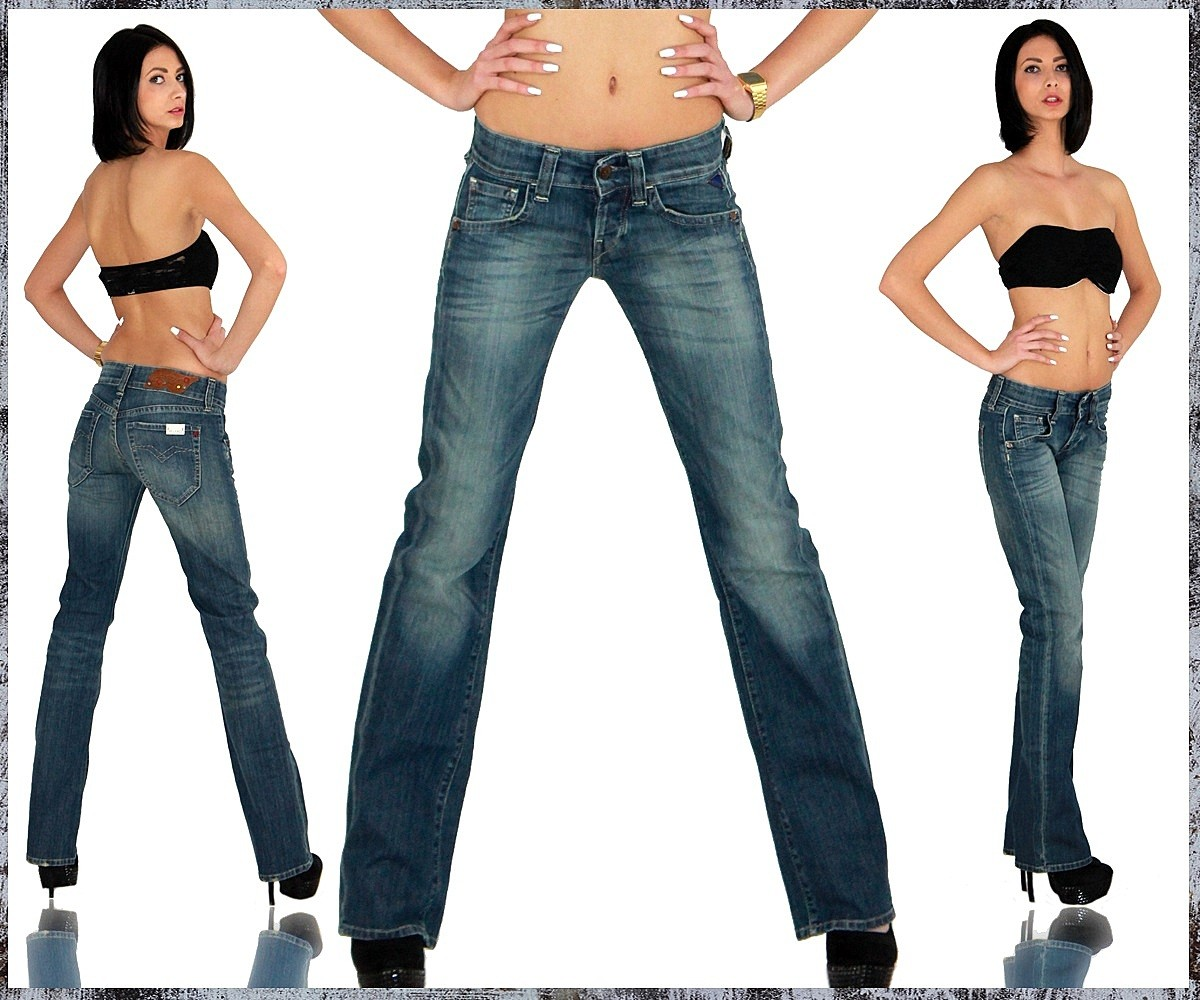 about replay damen jeans hose straight cut gerades bein swenfani 531. Black Bedroom Furniture Sets. Home Design Ideas