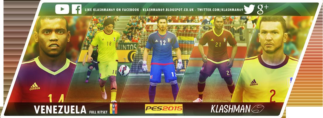 Download PES 2015 Venezuela Copa America 2015 KitPack