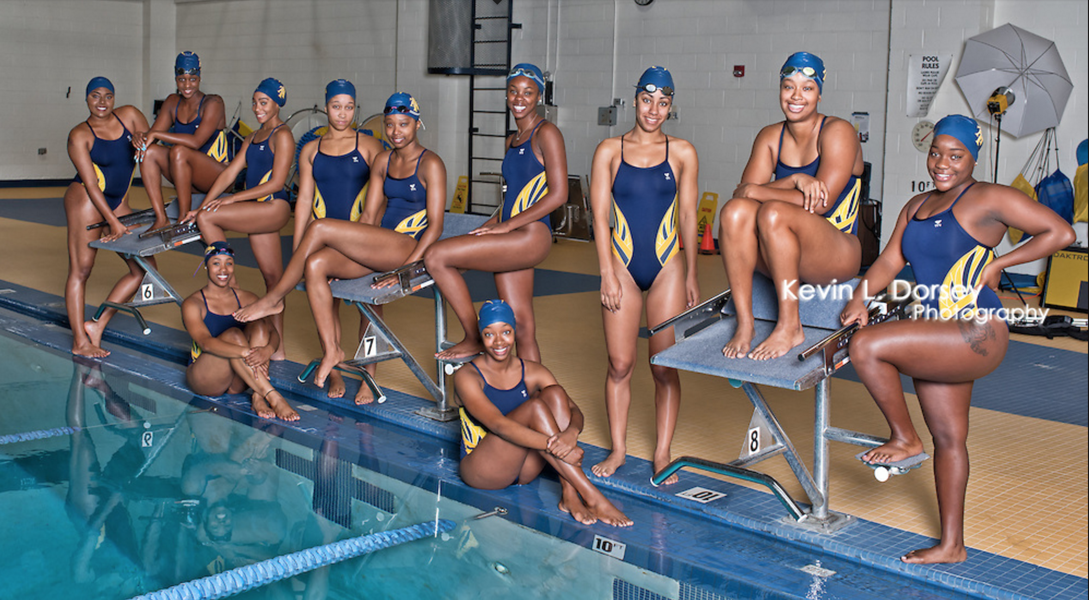 North Carolina A Amp T S Swim Team Is Filled With Unstoppable
