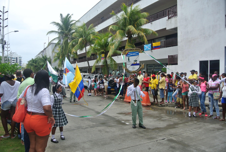 Desfile del dia de la independencia, Colombia