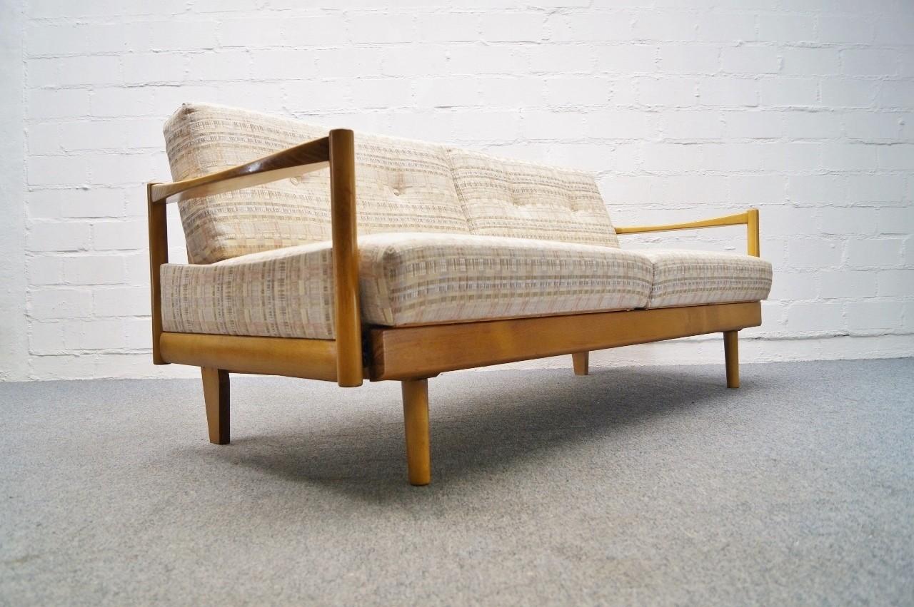 skandinavische sofagarnitur sofa daybed 2 lounge sessel 60er 70er ebay. Black Bedroom Furniture Sets. Home Design Ideas