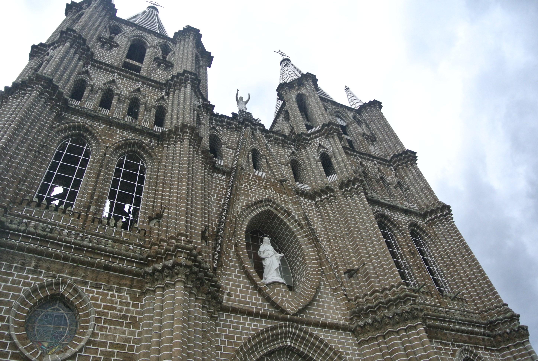 La catedral de Jardín, Antioquia, Colombia