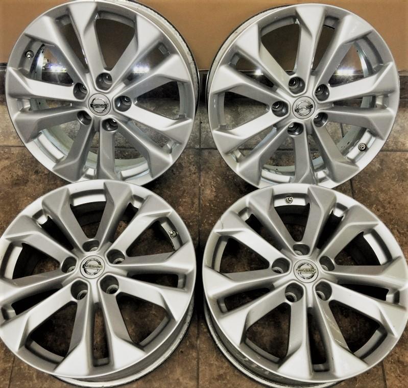 nissan rogue 17 alloy factory oem wheels rims 4 set 4 set ebay. Black Bedroom Furniture Sets. Home Design Ideas