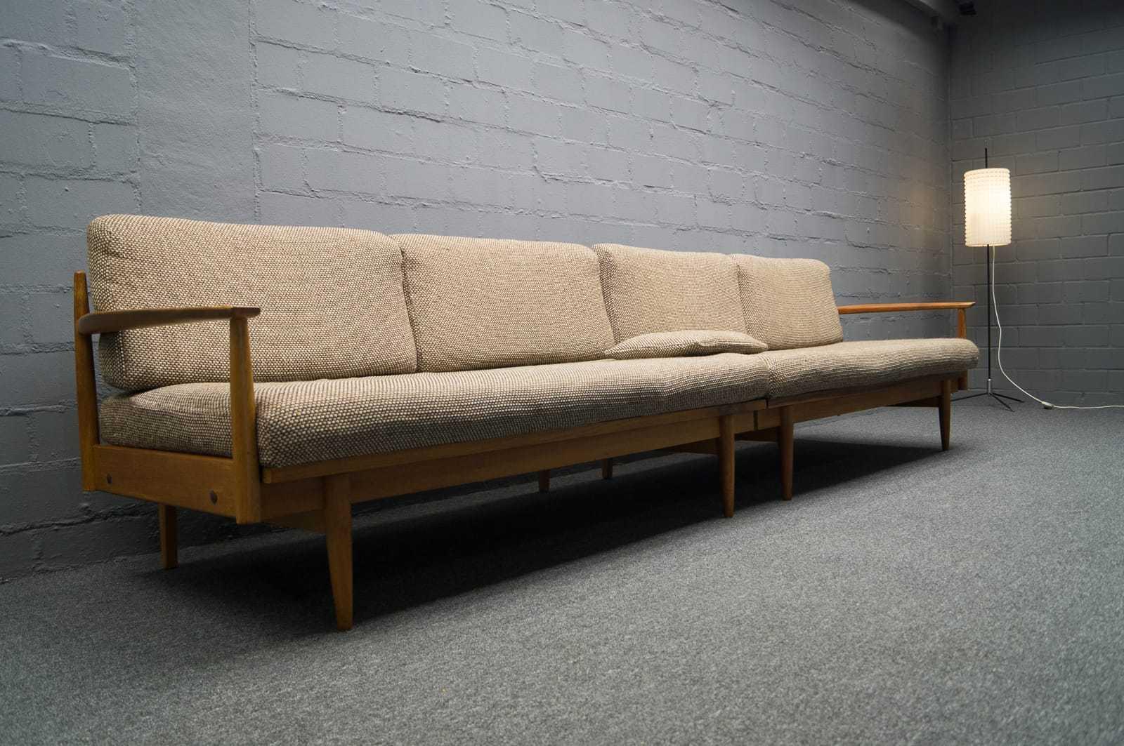 2x sofa daybed 3x sessel skandinavische sitzgruppe for Sofa 60er stil