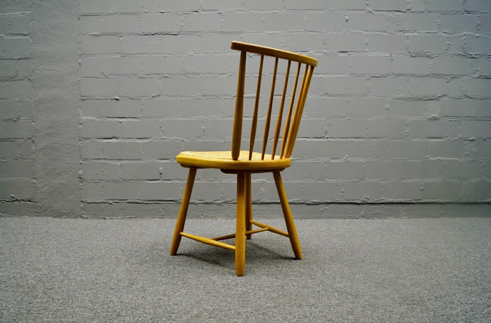 arno lambrecht stuhl wk sozialwerk m bel 60er 3 von 3 ebay. Black Bedroom Furniture Sets. Home Design Ideas